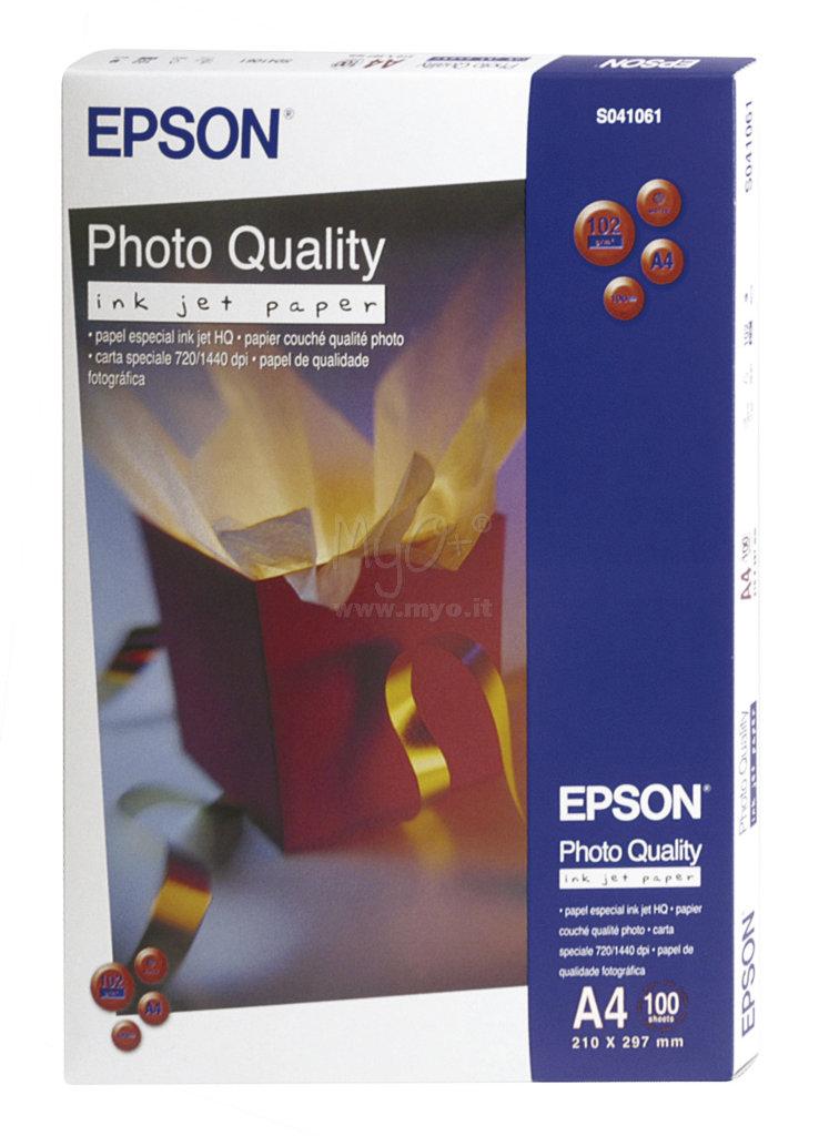 Photo quality carta fotografica acquista in myo s p a for Carta fotografica epson